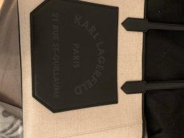 Karl Lagerfeld Shopper noir-crème