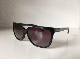 Karl Lagerfeld Lunettes de soleil angulaires noir-blanc
