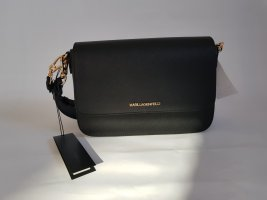 Karl Lagerfeld Crossbody bag black-gold-colored