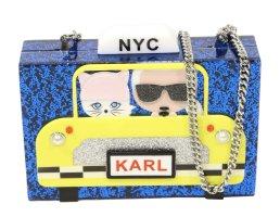 Karl Lagerfeld Umhängetasche in Multicolor