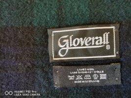 Gloverall Écharpe en laine bleu-bleu foncé