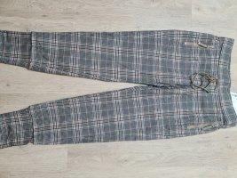 RAFFAELO ROSSI Wełniane spodnie brązowy