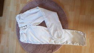 Karostar Pantalone cinque tasche bianco Cotone