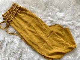Zara Pantalone peg-top giallo-oro
