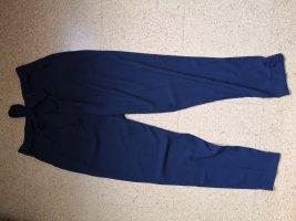 Asos Pantalón de pinza alto azul