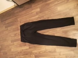 H&M Divided Peg Top Trousers black cotton