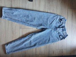 NKD Jeans carotte bleu pâle