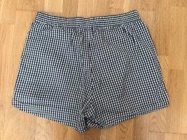 Monki Shorts nero-bianco