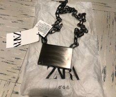 Zara Porte-cartes argenté