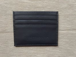 Mandarina Duck Card Case dark grey-anthracite leather