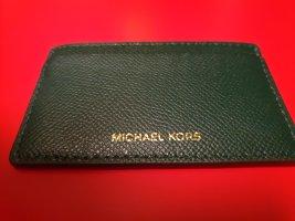 Michael Kors Tarjetero verde oscuro