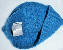 Globus Chapeau en tricot bleu laine