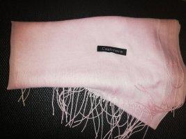 Cashmere Écharpe en cachemire rosé-rose clair cachemire