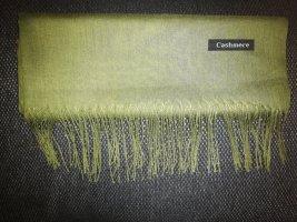 Cashmere Écharpe en cachemire gris vert-vert olive cachemire