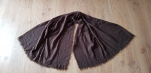 Claudia May Cashmere Scarf dark brown