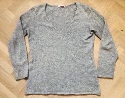Donna Lane Cashmere Jumper silver-colored-grey cashmere