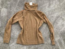 Zalando Pullover in cashmere beige-color cammello