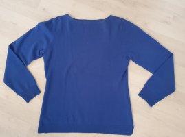 Repeat Cashmere Pullover in cashmere blu Cachemire