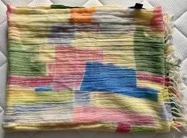 Allude Écharpe en cachemire multicolore