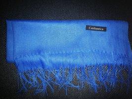 Cashmere Écharpe en cachemire bleu