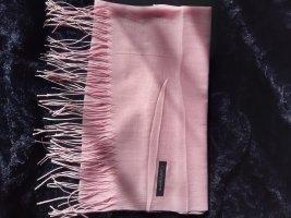 Cashmere Bufanda de cachemir rosa claro-rosa