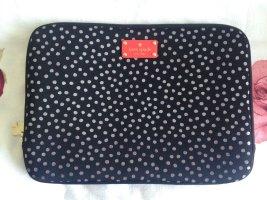 Kate Spade Funda para portátil negro tejido mezclado