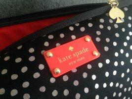 Kate Spade New York Tasche Laptop schwarz mit Punkten