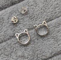 Zilveren oorbellen zilver