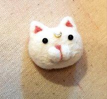 Katzen Brosche 'Artemis'