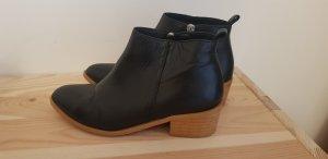 Kauf Dich Glücklich Ankle Boots 36 Leder schwarz Stiefeletten acne asos cos