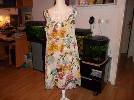 kaum getragenes wunderschönes kleid,grösse 42,sommerlich bunt