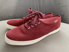 Keds - Champion Sneaker - NEU - Veloursleder- Gr. 35,5 - Bordeaux