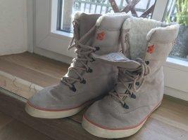 Keds Halfhoge laarzen licht beige