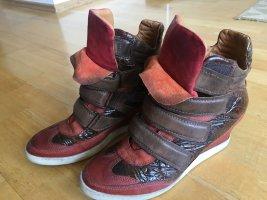 Airstep Wedge sneaker veelkleurig Leer