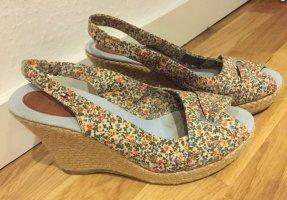 Tommy Hilfiger Espadrille sandalen room-olijfgroen
