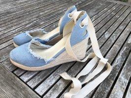 Keilabsatz Schuhe zum Schnüren