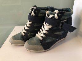 Graceland Wedge Sneaker steel blue