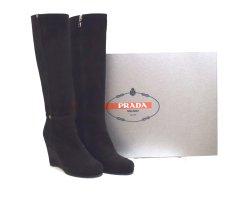 Keilabsatz-Stiefel von Prada