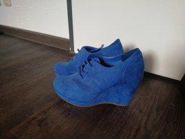 Greenland Zapatos de cuña azul