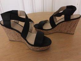 AF Wedge Sandals dark blue