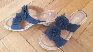 Gabor Comfort Sandals steel blue