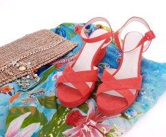 grain de malice Wedge Sandals multicolored
