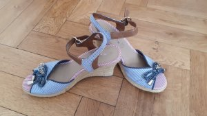 Tamaris Platform High-Heeled Sandal azure