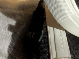 Kennel & Schmenger Zapatillas con hook-and-loop fastener negro Cuero