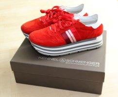 Kennel & Schmenger Sneaker Rot 38 Neu!
