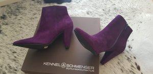 Kennel & Schmenger Stiefeletten deep purple in ovp 240 npr 38,5