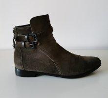 kennel und schmenger Ankle Boots khaki leather
