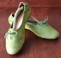 Kennel und Schmenger Mary Jane Ballerinas grass green-meadow green leather