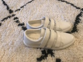 Kenneth Cole Velcro Sneakers white-gold-colored
