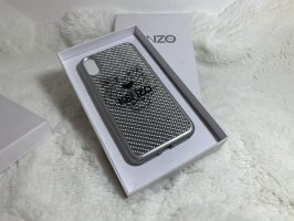 Kenzo Mobile Phone Case silver-colored
